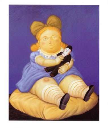 La Muñeca. Fernando Botero