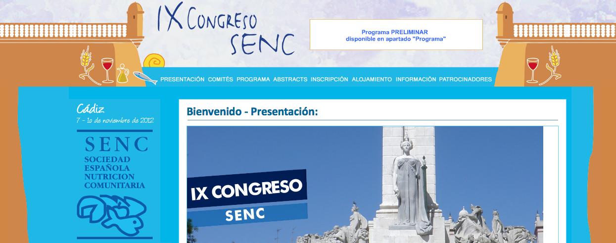 IX Congreso SENC