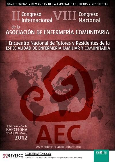 Cartel Congreso AEC Barcelona 2012