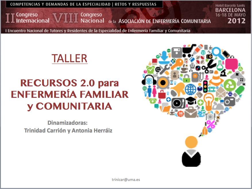 Taller Recursos 2.0