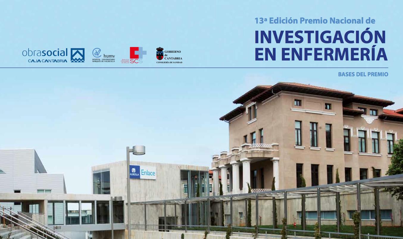 13ª Edición Premio Nacional de Investigación en Enfermería HUMV