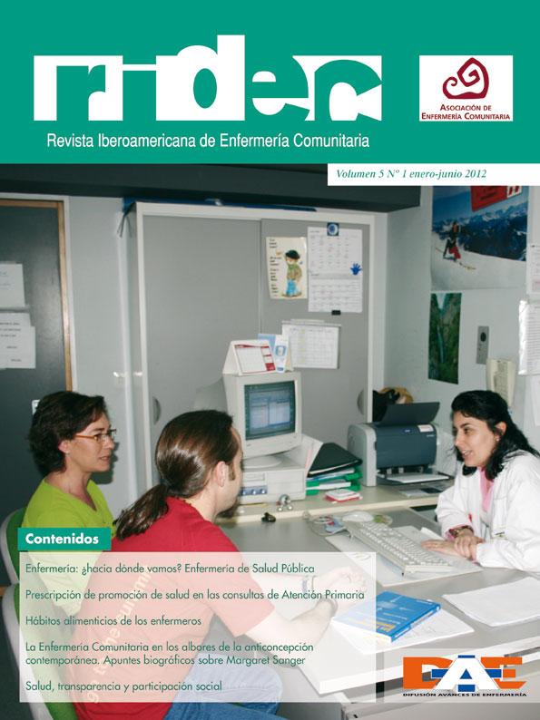 RIdEC 2012 Vol. 5 Núm. 1